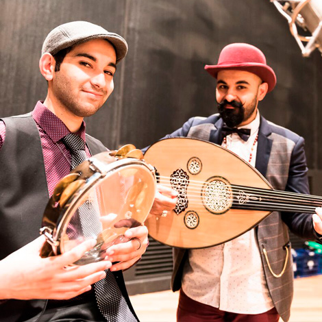 Joseph Tawadros and James Tawadros